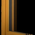 Holzfenster Ausschnitt